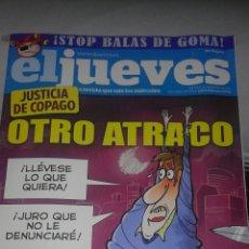 Coleccionismo de Revista El Jueves: REVISTA EL JUEVES N. 1854. Lote 56102843