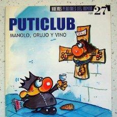 Coleccionismo de Revista El Jueves: REVISTA . EL JUEVES . NUEVOS PENDONES DEL HUMOR . NÚMERO 27. Lote 56234040