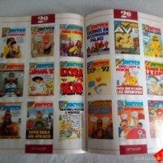 Coleccionismo de Revista El Jueves: EL JUEVES 20 AÑOS DE PORTADAS, 1977 A 1997 / SÁTIRA / HUMOR. Lote 56526827