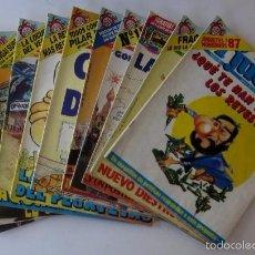 Coleccionismo de Revista El Jueves: 11 REVISTAS EL JUEVES - AÑO 1987. Lote 56752297