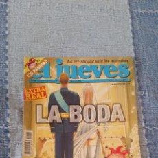 Coleccionismo de Revista El Jueves: REVISTA EL JUEVES - Nº 1408. MAYO DE 2004.. Lote 57574341