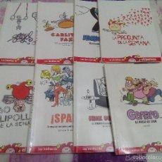 Coleccionismo de Revista El Jueves: LOTE DE 8 EJEMPLARES DE LOS INÉDITOS DE EL JUEVES. Lote 58185170