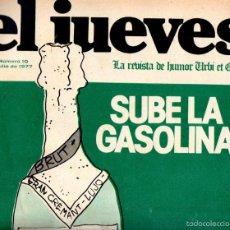 Coleccionismo de Revista El Jueves: EL JUEVES Nº 10 - 29 JUL. 1977. Lote 58321855
