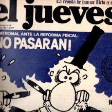 Coleccionismo de Revista El Jueves: EL JUEVES Nº 9 - 22 JUL. 1977. Lote 58321865