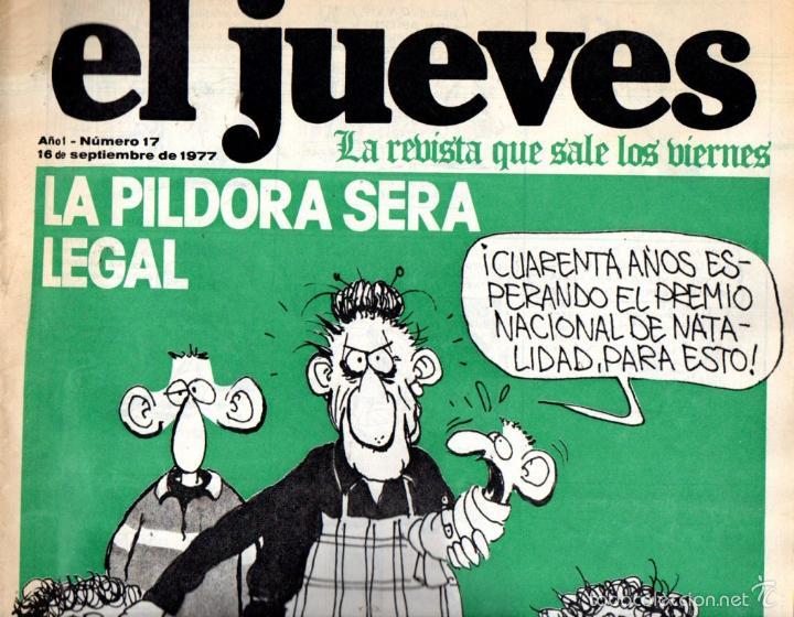 EL JUEVES Nº 17 - 16 SET. 1977 (Coleccionismo - Revistas y Periódicos Modernos (a partir de 1.940) - Revista El Jueves)