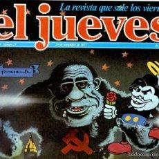 Coleccionismo de Revista El Jueves: EL JUEVES Nº 27 - 25 NOV. 1977. Lote 58321963