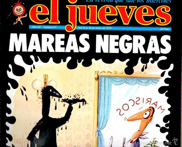 EL JUEVES Nº 87 - 24 ENE. 1979 (Coleccionismo - Revistas y Periódicos Modernos (a partir de 1.940) - Revista El Jueves)