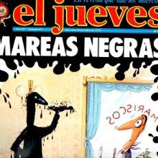 Coleccionismo de Revista El Jueves: EL JUEVES Nº 87 - 24 ENE. 1979. Lote 58322037
