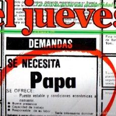 Coleccionismo de Revista El Jueves: EL JUEVES Nº 65 - 23 AGO. 1978. Lote 58322052