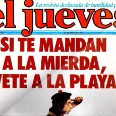 Coleccionismo de Revista El Jueves: EL JUEVES Nº 61 - 26 JUL. 1978. Lote 58322085