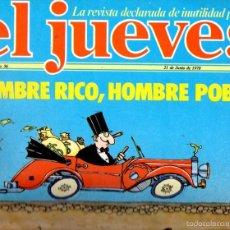Coleccionismo de Revista El Jueves: EL JUEVES Nº 56 - 21 JUN. 1978. Lote 58322122