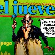 Coleccionismo de Revista El Jueves: EL JUEVES Nº 59 - 12 JUL. 1978. Lote 58322158
