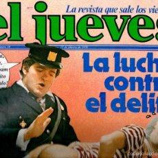 Coleccionismo de Revista El Jueves: EL JUEVES Nº 39 - 17 FEB. 1978. Lote 58322175