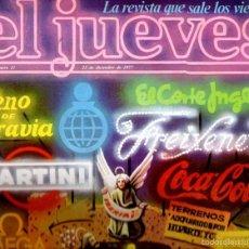Coleccionismo de Revista El Jueves: EL JUEVES Nº 31 - 23 DIC. 1977. Lote 58322400