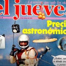 Coleccionismo de Revista El Jueves: EL JUEVES Nº 40 - 24 FEB. 1978. Lote 58322447