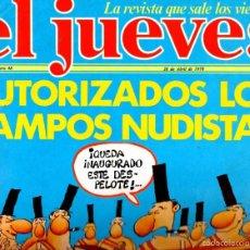 Coleccionismo de Revista El Jueves: EL JUEVES Nº 48 - 21 ABR. 1978. Lote 58322568