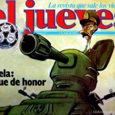 Coleccionismo de Revista El Jueves: EL JUEVES Nº 53 - 2 JUN. 1978. Lote 58322599