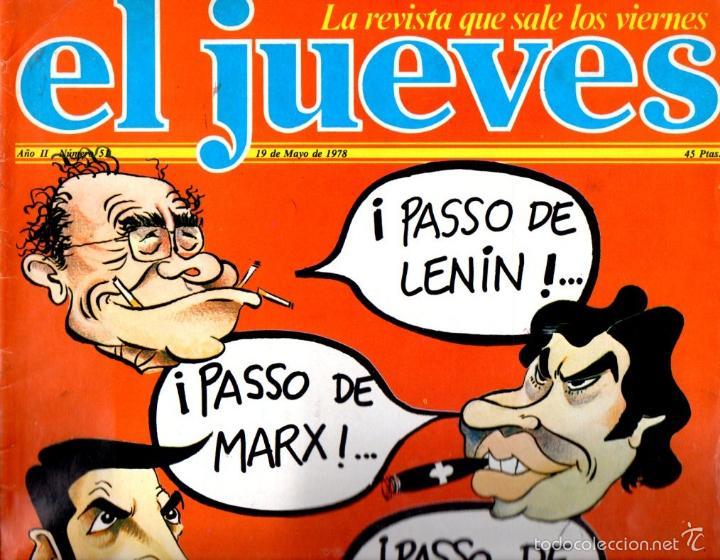 EL JUEVES Nº 51 - 19 MAY. 1978 (Coleccionismo - Revistas y Periódicos Modernos (a partir de 1.940) - Revista El Jueves)