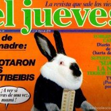 Coleccionismo de Revista El Jueves: EL JUEVES Nº 50 - 12 MAY. 1978. Lote 58322638
