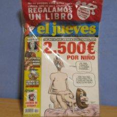 Coleccionismo de Revista El Jueves: EL JUEVES CENSURADO Nº 1573 AÑO 2007 TOTALMENTE PRECINTADO SIN ABRIR. Lote 58502530