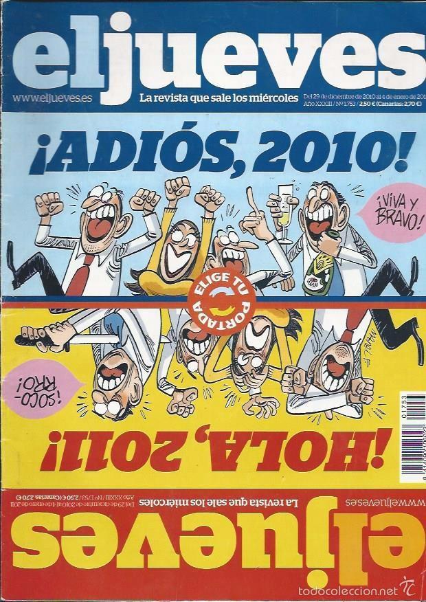 EL JUEVES Nº1753- AÑO 2010 - SEGUNDA MANO (Coleccionismo - Revistas y Periódicos Modernos (a partir de 1.940) - Revista El Jueves)