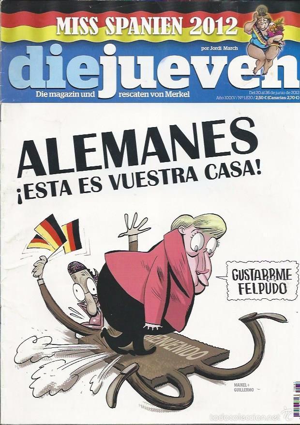 EL JUEVES N° 1830- AÑO 2012 - SEGUNDA MANO (Coleccionismo - Revistas y Periódicos Modernos (a partir de 1.940) - Revista El Jueves)
