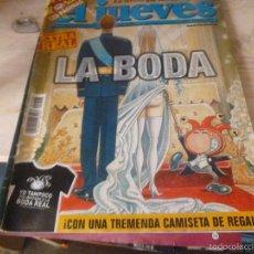 Coleccionismo de Revista El Jueves: EL JUEVES - Nº 1408 - EXTRA REAL LA BODA. Lote 58661996