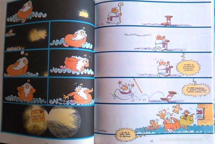 Coleccionismo de Revista El Jueves: ¿Gloria en las Alturas? ¡Dios Mío!, J.L. Martín. Pendones del Humor, nº 74. Cómic Español Satírico. - Foto 4 - 58688552