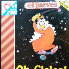 Coleccionismo de Revista El Jueves: OH, CIELOS! ¡DIOS MÍO!, J.L. MARTÍN. PENDONES DEL HUMOR, Nº 6. CÇOMIC DE LA REVISTA EL JUEVES.. Lote 58689142
