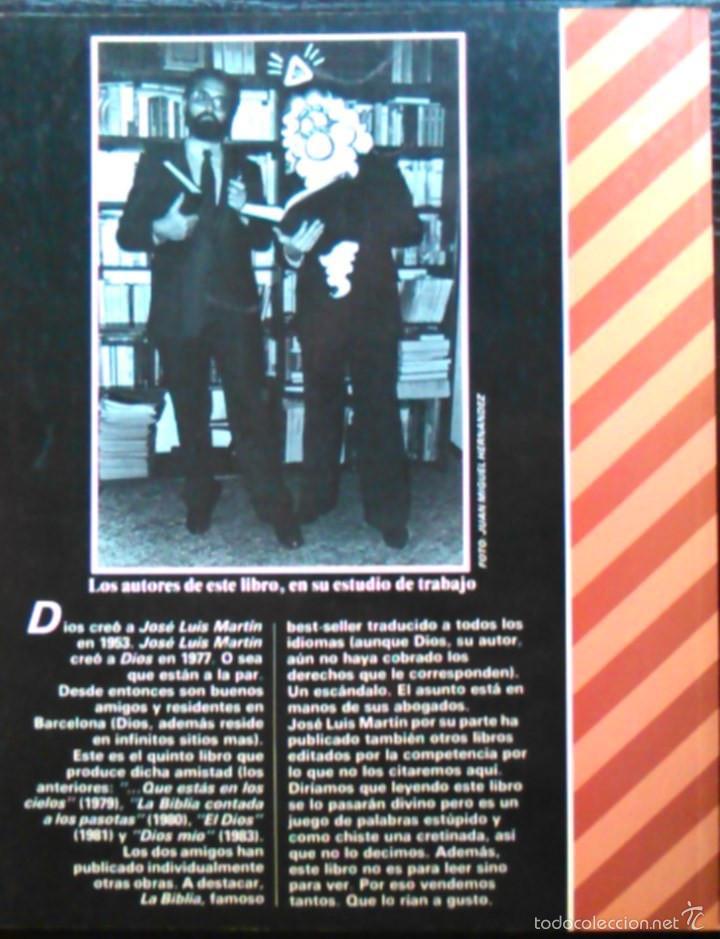Coleccionismo de Revista El Jueves: Oh, Cielos! ¡Dios Mío!, J.L. Martín. Pendones del Humor, nº 6. Cçomic de la Revista El Jueves. - Foto 2 - 58689142