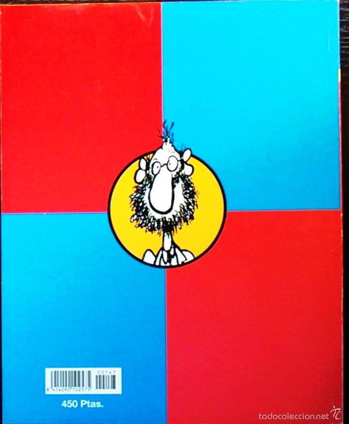 Coleccionismo de Revista El Jueves: Vamos a Darnos un Homenaje. El Profesor Cojonciano, de Óscar Nebreda. Pendones del Humor, nº 147. - Foto 2 - 58689472