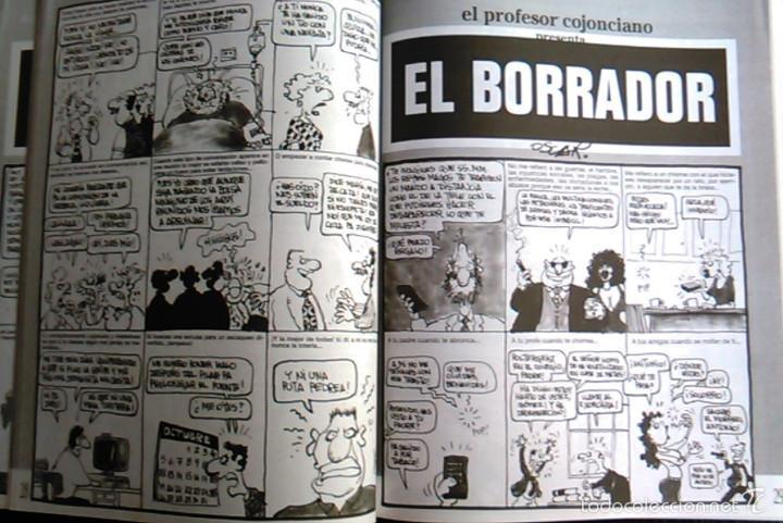 Coleccionismo de Revista El Jueves: Vamos a Darnos un Homenaje. El Profesor Cojonciano, de Óscar Nebreda. Pendones del Humor, nº 147. - Foto 4 - 58689472