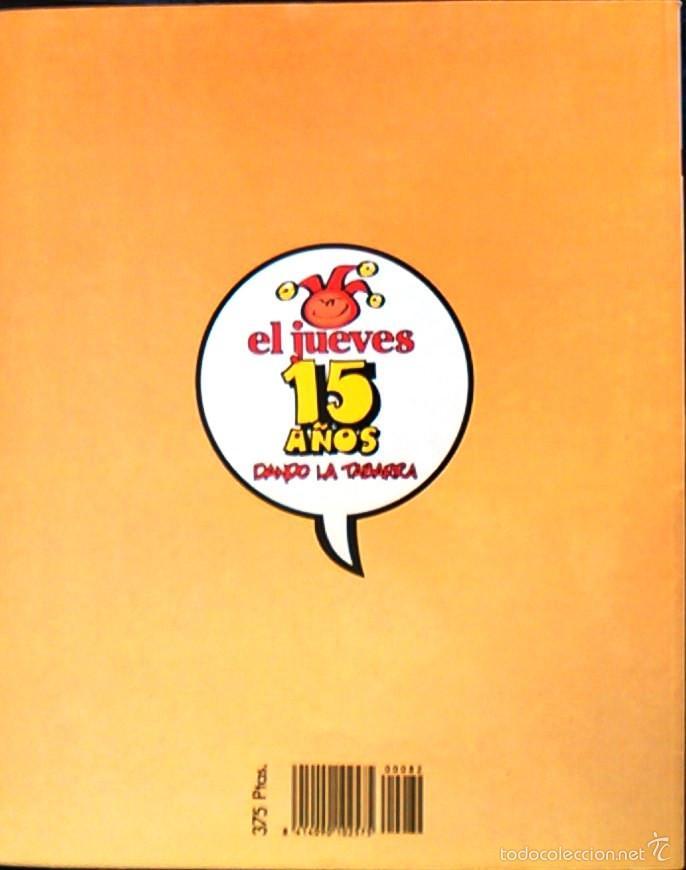 Coleccionismo de Revista El Jueves: Calen Bayoneta! Historias de la Puta Mili, de IVÁ. Pendones del Humor, nº 82. Cómic parodia militar. - Foto 2 - 58689774
