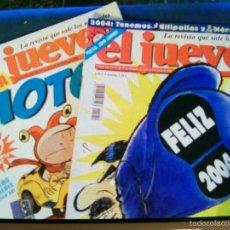 Coleccionismo de Revista El Jueves: LOTE DE 2 REVISTAS EL JUEVES. Lote 61219087