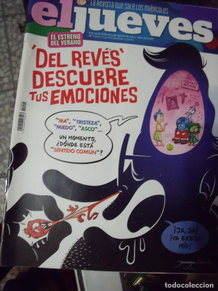 EL JUEVES N 1992 2015 (Coleccionismo - Revistas y Periódicos Modernos (a partir de 1.940) - Revista El Jueves)