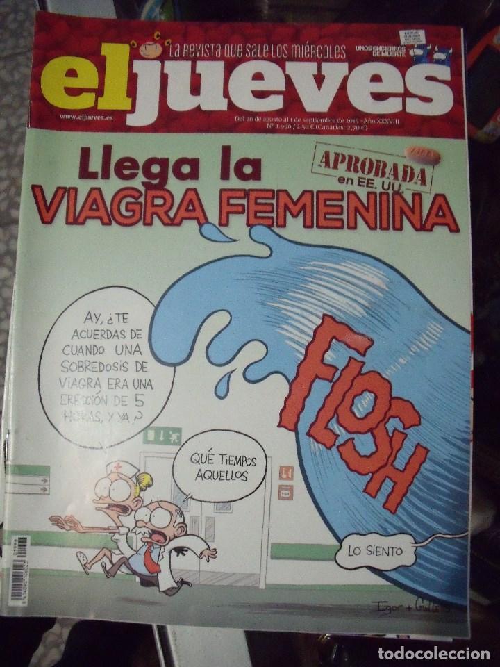EL JUEVES N 1996 2015 (Coleccionismo - Revistas y Periódicos Modernos (a partir de 1.940) - Revista El Jueves)