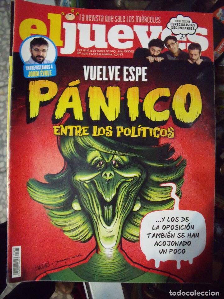 EL JUEVES N 1973 2015 (Coleccionismo - Revistas y Periódicos Modernos (a partir de 1.940) - Revista El Jueves)