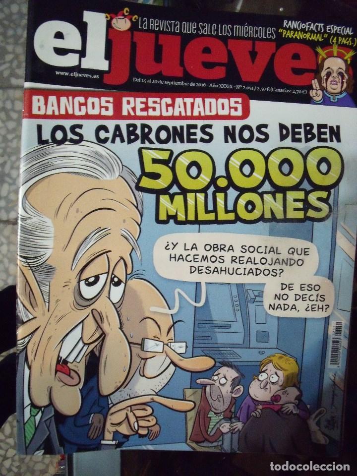 EL JUEVES N 2051 2016 (Coleccionismo - Revistas y Periódicos Modernos (a partir de 1.940) - Revista El Jueves)