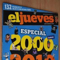 Coleccionismo de Revista El Jueves: EL JUEVES ESPECIAL 2000 - 2010. LOS MEJORES DIBUJOS DE LA DÉCADA.. Lote 62165820