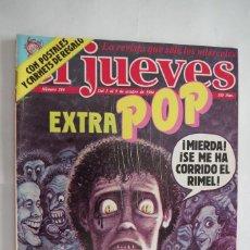 Coleccionismo de Revista El Jueves: EL JUEVES Nº 384 EXTRA POP CON LAS POSTALES Y CARNETS DE REGALO AÑO 1984. Lote 107367090