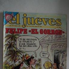 Coleccionismo de Revista El Jueves: EL JUEVES Nº 378 AÑO 1984 CON FORMATO MAS GRANDE QUE EL ACTUAL. Lote 64101031
