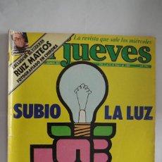 Coleccionismo de Revista El Jueves: EL JUEVES Nº 362 AÑO 1984 CON FORMATO MAS GRANDE QUE EL ACTUAL. Lote 64101231