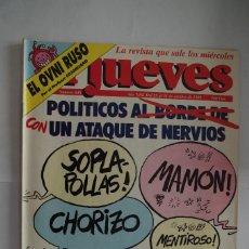 Coleccionismo de Revista El Jueves: EL JUEVES Nº 648 AÑO 1989. Lote 64101347