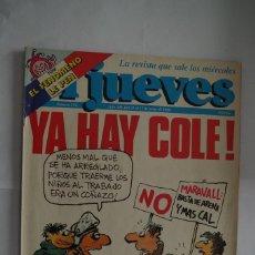 Coleccionismo de Revista El Jueves: EL JUEVES Nº 572. Lote 64101619