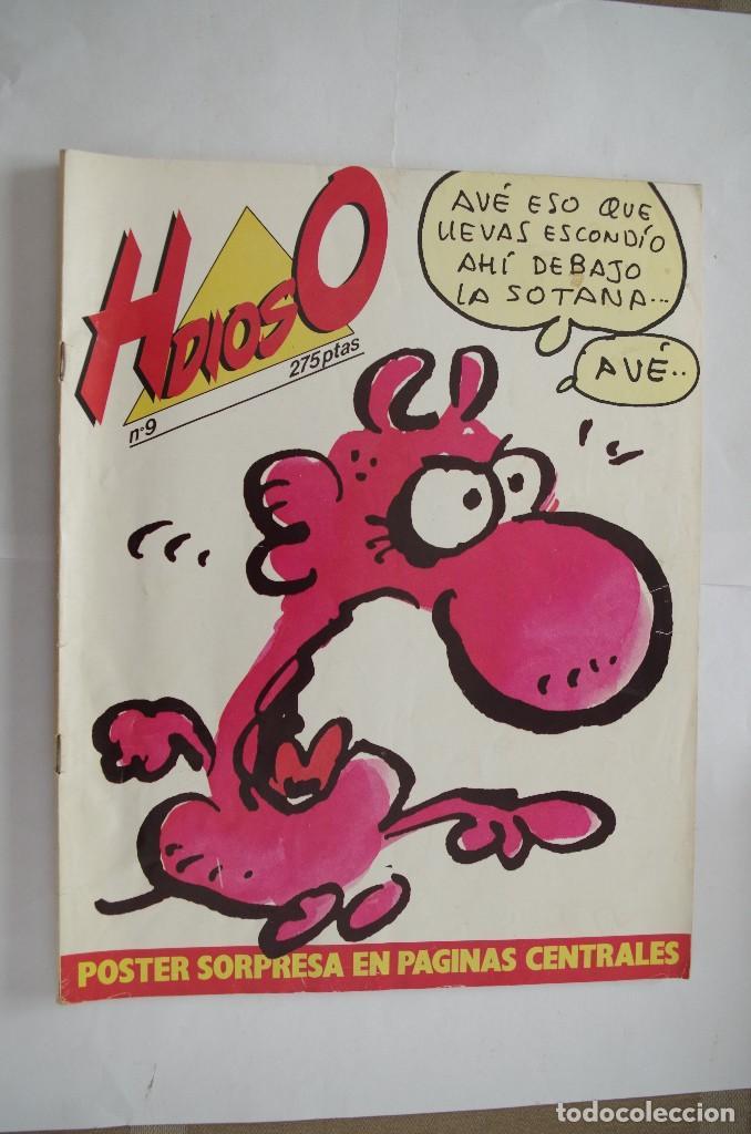 HDIOSO Nº 9 AÑO 1986 (Coleccionismo - Revistas y Periódicos Modernos (a partir de 1.940) - Revista El Jueves)