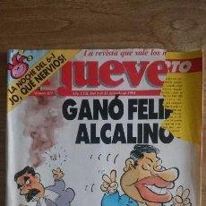 Coleccionismo de Revista El Jueves: EL JUEVES NÚMERO 837, AÑO 1993. Lote 65030923