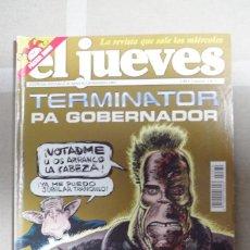 Coleccionismo de Revista El Jueves: REVISTA EL JUEVES Nº 1370 - 27 DE AGOSTO AL 2 DE SETIEMBRE 2003 - CON EL POSTER DE DINIO. Lote 65781098
