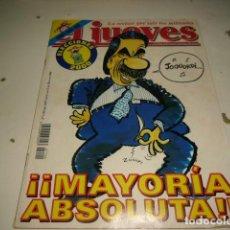 Coleccionismo de Revista El Jueves: EL JUEVES Nº 1190 DEL 15 AL 21 MARZO 2000. Lote 120611334