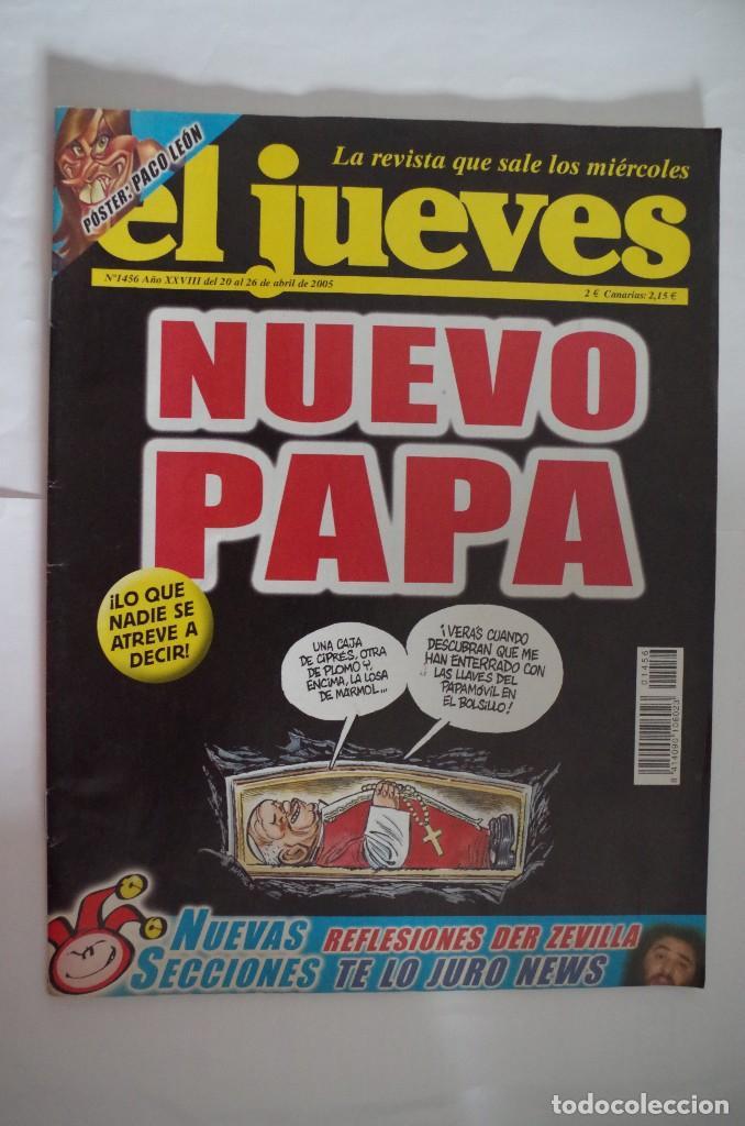 EL JUEVES Nº 1456 - NUEVO PAPA (Coleccionismo - Revistas y Periódicos Modernos (a partir de 1.940) - Revista El Jueves)