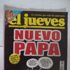Coleccionismo de Revista El Jueves: EL JUEVES Nº 1456 - NUEVO PAPA. Lote 67646785